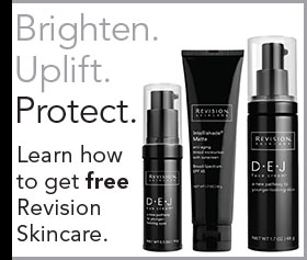 Free DEJ Revision Skincare products with Laser Resurfacing Series purchase