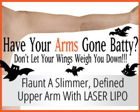 Try Laser Lipo for Arms