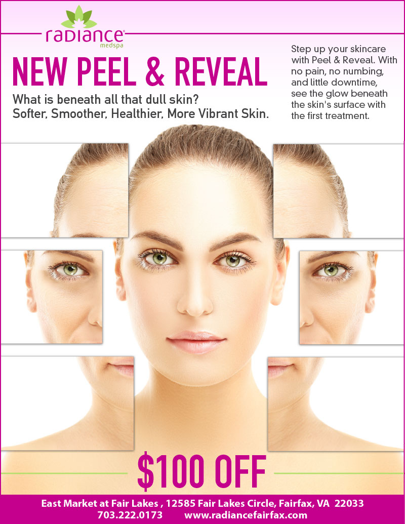 NEW Peel & Reveal Skincare Special