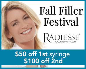 Radiesse Fall Filler Festival