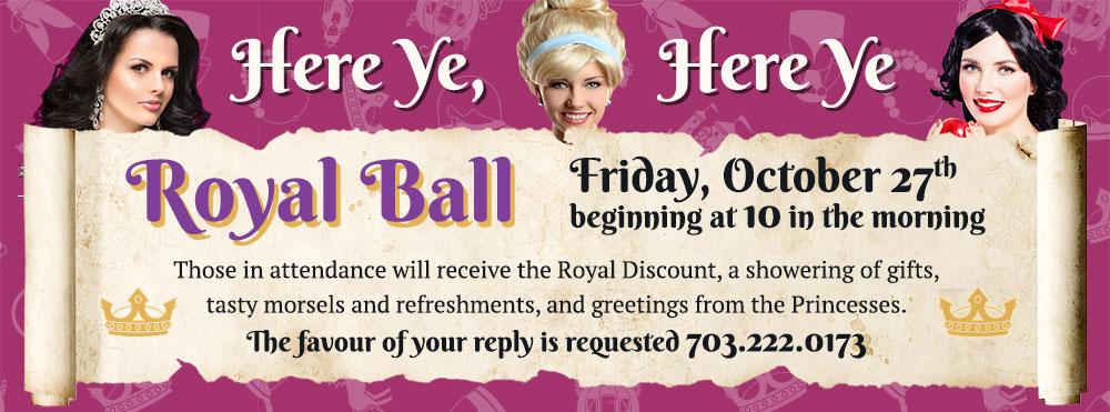 Royal Ball Halloween Event