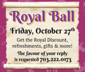 Royal Ball Halloween Event