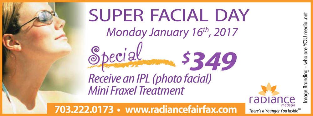 Super Facial Day - IPL & Mini-Fraxel