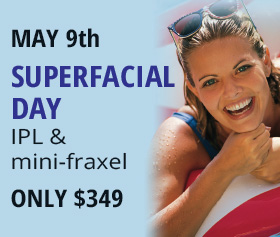 Superfacial Day IPL and Mini-Fraxel Special Offer Fairfax, VA  Promo