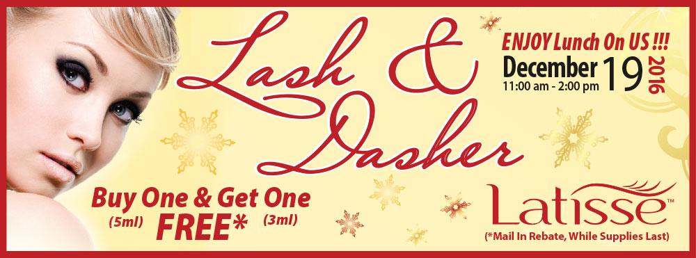 Lash & Dasher Latisse BOGO