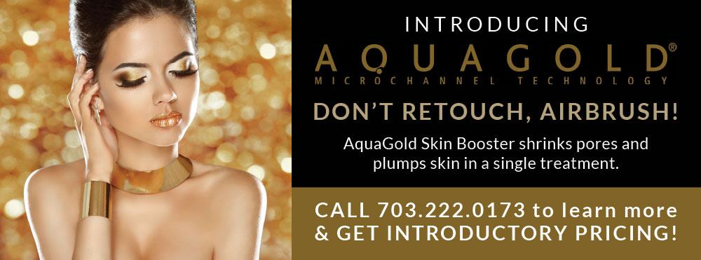Introducing AquaGold Skin Booster