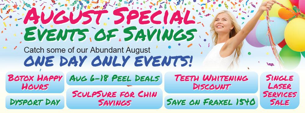Abundance of August Events