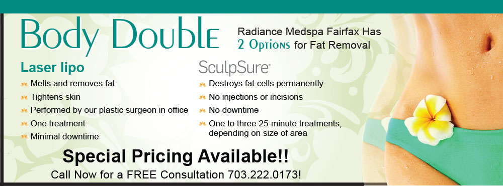 Radiance Has 2 Options for Fat Removal - SculpSure & Laser Lipo
