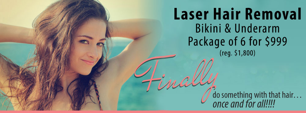 Radiance Laser Hair Removal Special