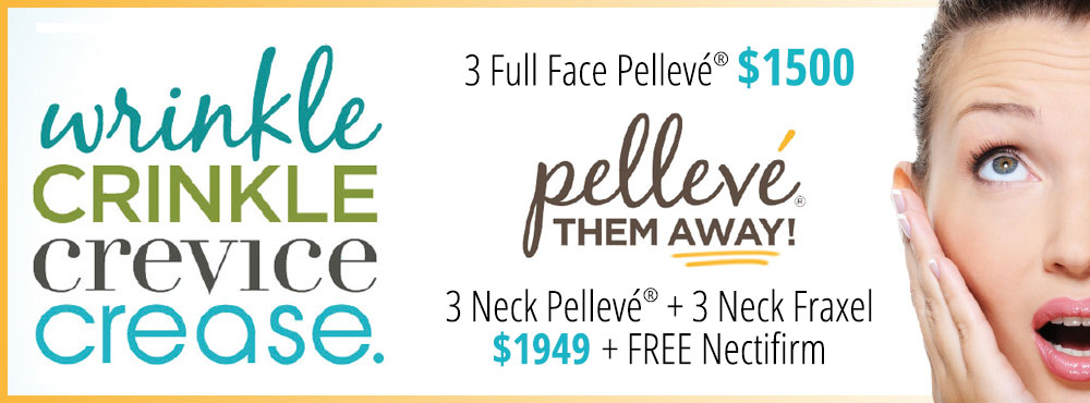Pelleve Special Wrinkle Removal Discounts