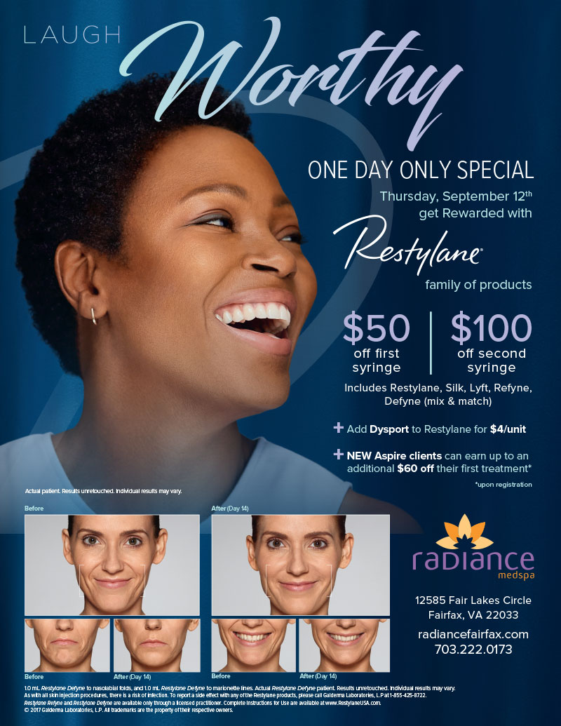 Restylane One Day Special