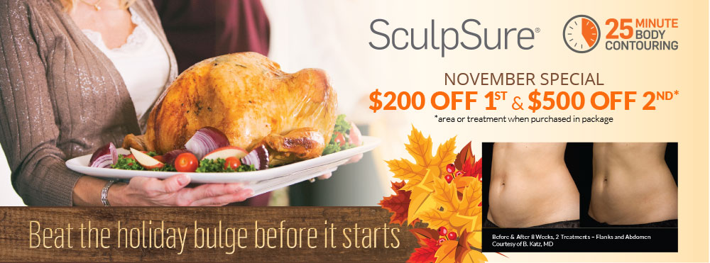 SculpSure Fat Removal Special
