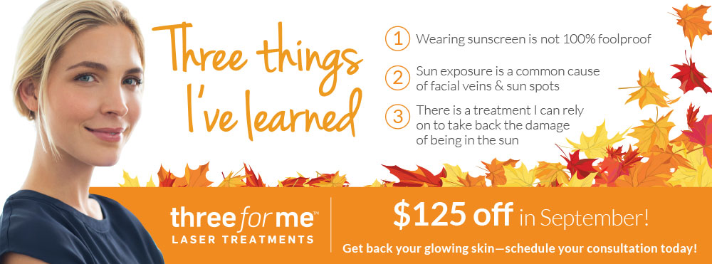 Radiance ThreeforMe Laser Treatment Special
