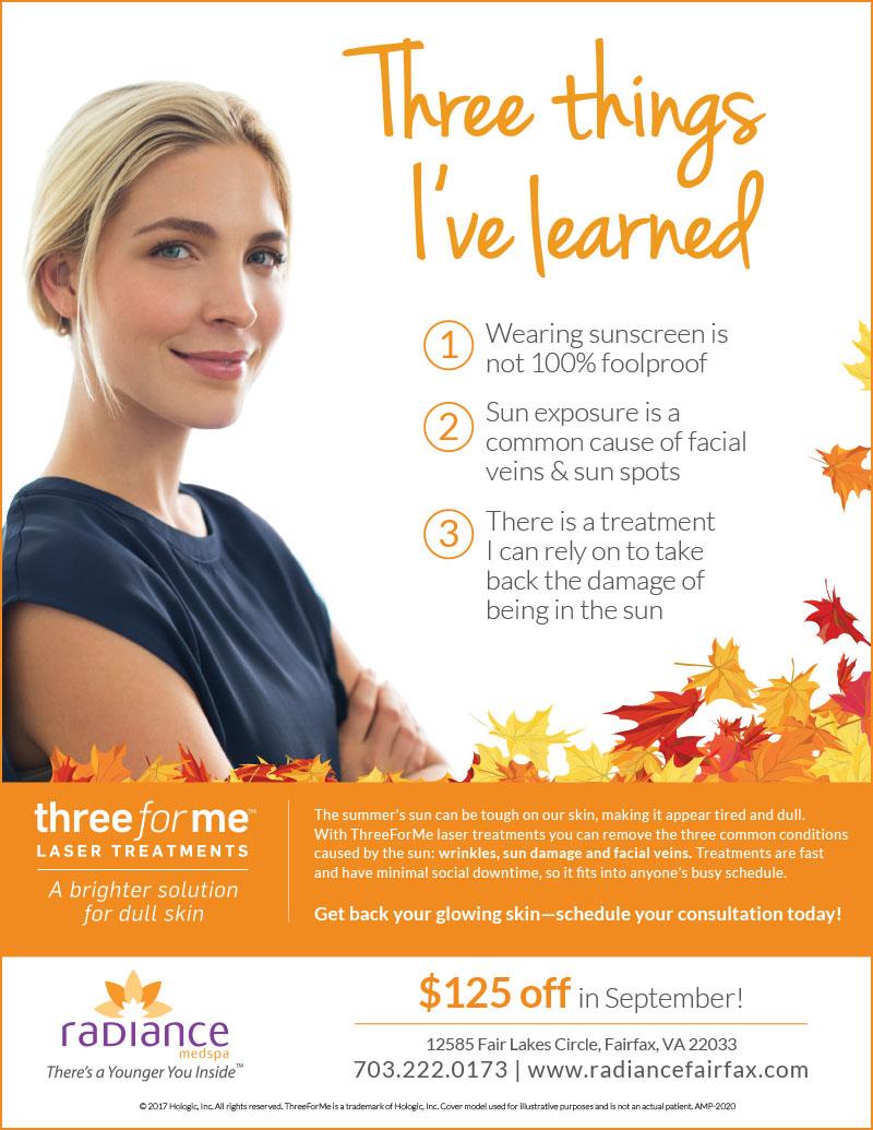 ThreeforMe laser treatment discount