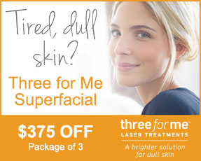 Three for Me Superfacial Special