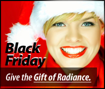 Black Friday Deals on Radiance Gift Certificates
