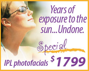 IPL Photofacial Special Offer Fairfax, VA  Promo