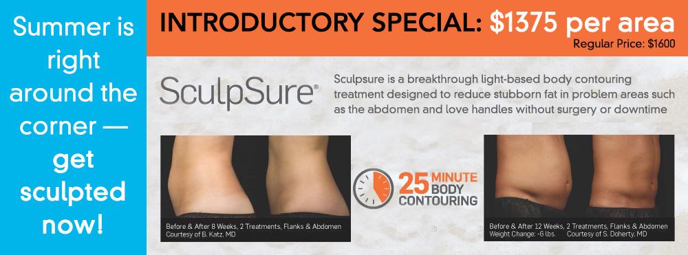 SculpSure fat removal Special Offer Fairfax, VA