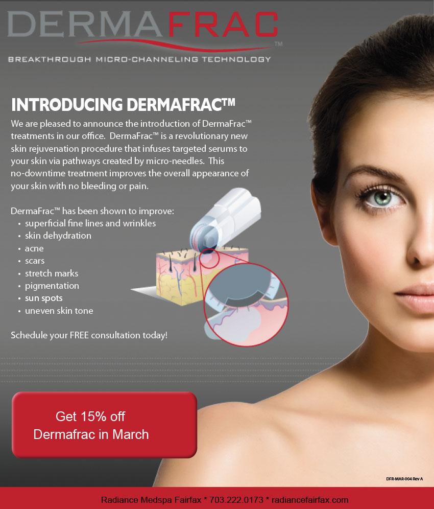 Derma Frac Promotion