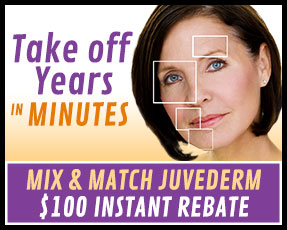 Mix & Match Juvederm, Save $100