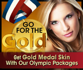 Go for the Gold Olympic Skin Care Specials