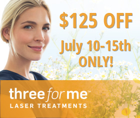ThreeForMe Laser Treatment Special